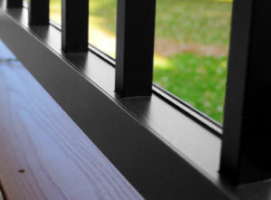 Optima Metal Deck Railing
