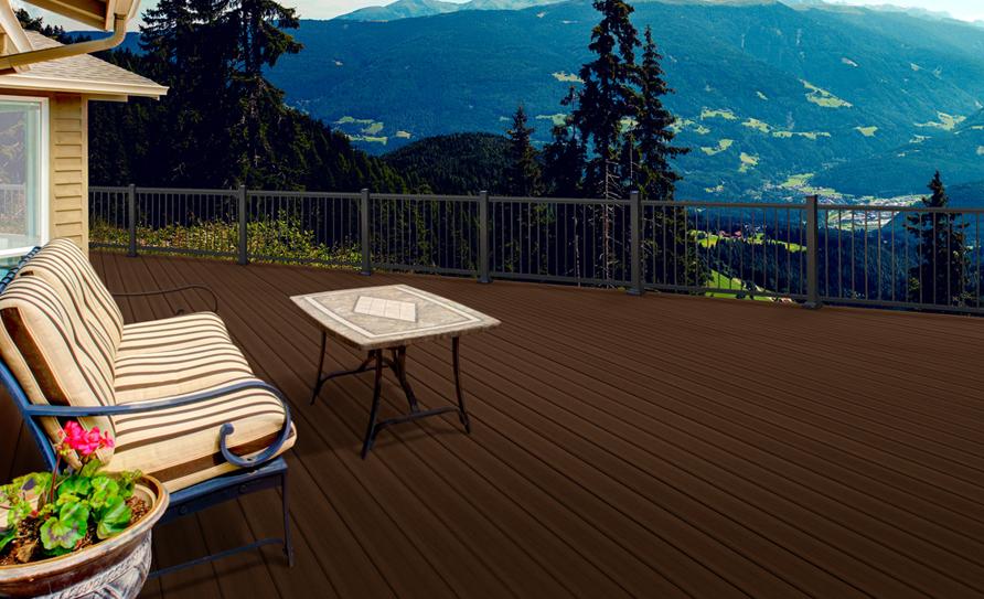 Optima Aluminum Deck Railing SC