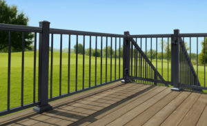Aluminum Deck Railing south carolina