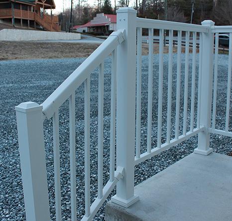 Aluminum & Vinyl Deck Railing | Color Guard | Simpsonville SC