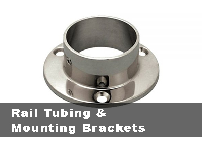 Rail Tubing & Mounting Brackets
