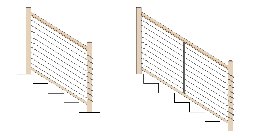 Deckstore - Fenney Wood Posts_0000_Stair Inside to Outside