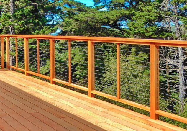Feeney Cable Railing For Wood Post