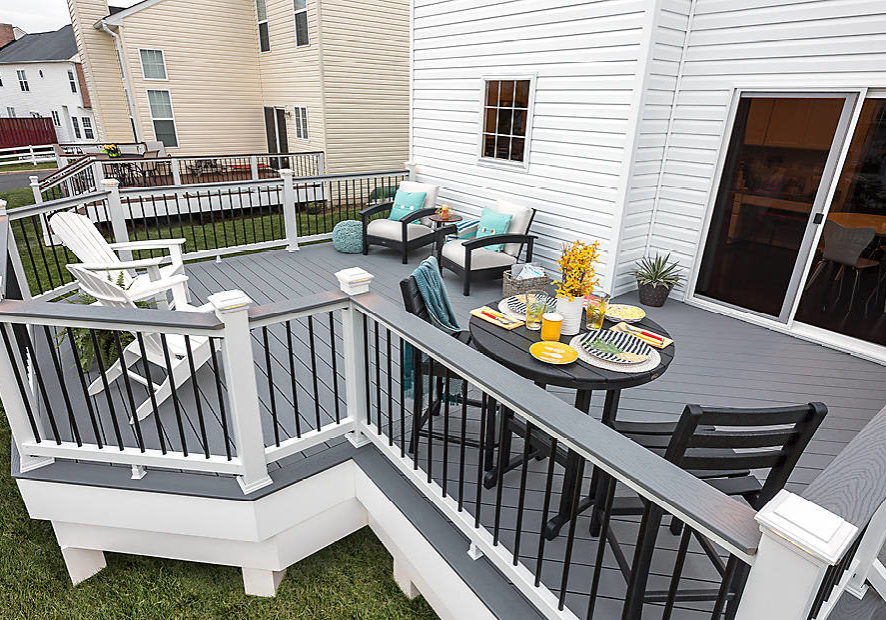 TREX SELECT deck RAILING Travelers Rest